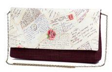 Poseta scrisoare dragoste in stil vintage