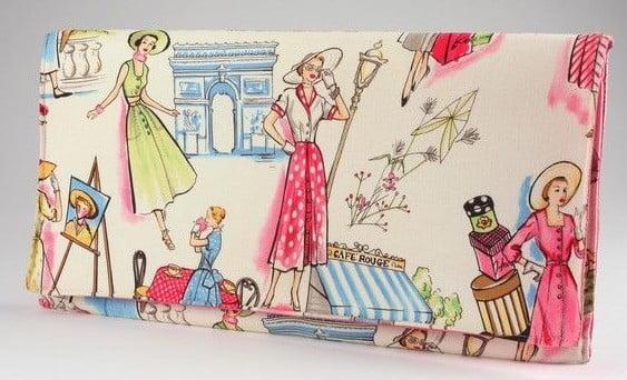 poseta-paris-femei-retro-stil-chic-elegant-imprimeu-multicolor-bumbac169