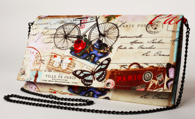 Poseta plic Paris si biciclete