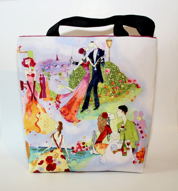 geanta umar handmade kiss multicolora