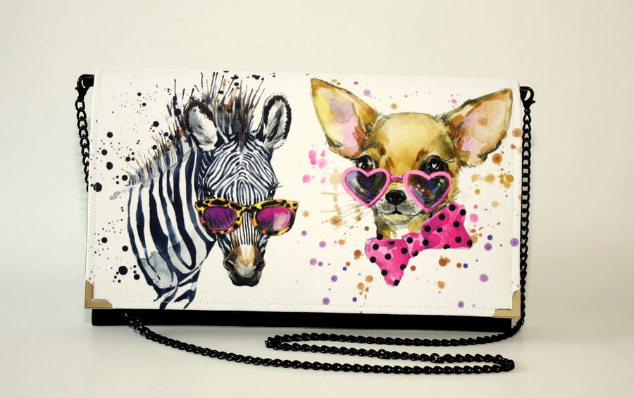 poseta plic zebra chihuahua