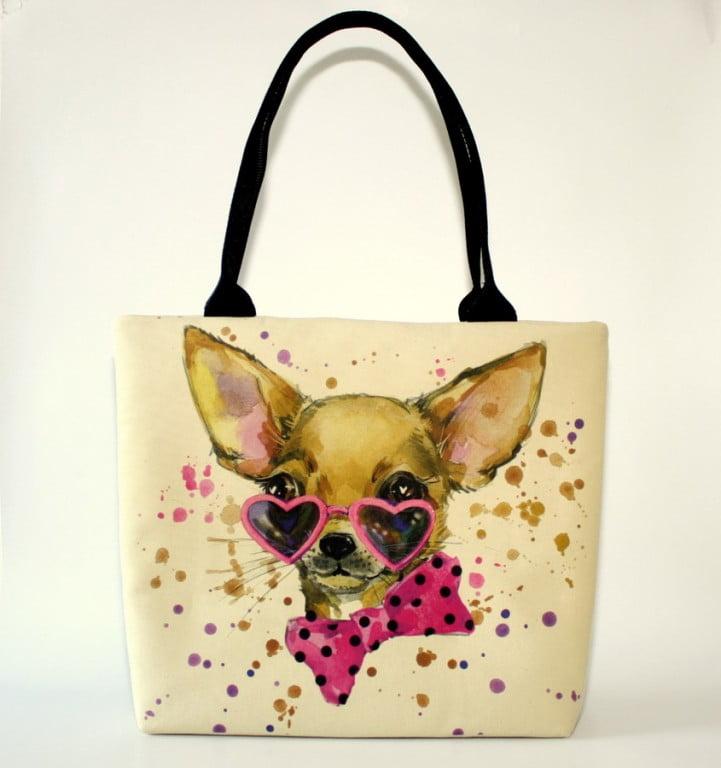 geanta umar caine Chihuahua