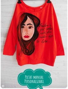 bluza pictata manual janis joplin