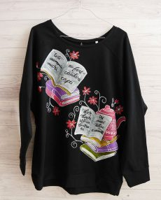 bluza dama handmade cu micul print